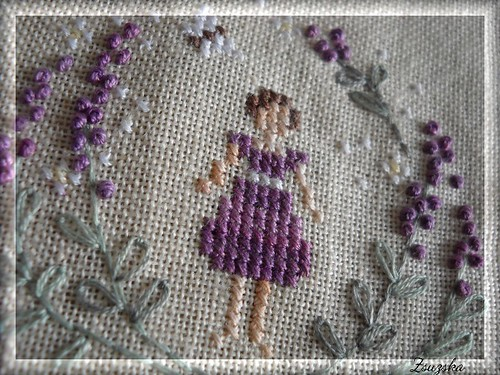 lavendergirl, cross stitch, thesnowflower diaries, francia csomó (5)