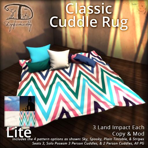 Classic Cuddle Rug (Lite) - for FLF! - TeleportHub.com Live!