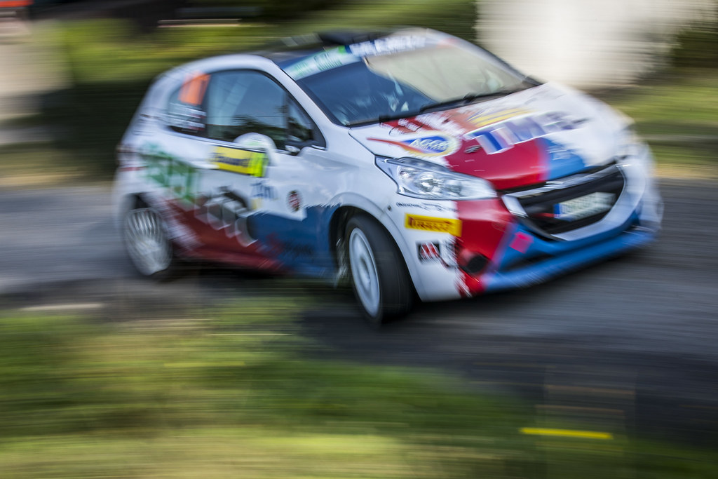 47 BROZ Dominik (CZE) TESINSKY Petr (CZE) Peugeot 208 R2 action during the 2017 European Rally Championship ERC Barum rally,  from August 25 to 27, at Zlin, Czech Republic - Photo Gregory Lenormand / DPPI