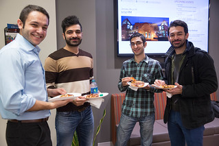Spring 2016 Luncheon Hosted by ISE Graduate Program hosted by ISE Graduate Program