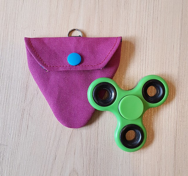 Fidget-Spinner Tasche