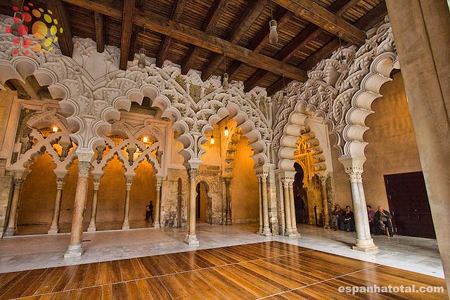 o que fazer em Zaragoza: visitar La Aljaferia