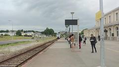 Train arrivel at Flers station - Photo of Cerisy-Belle-Étoile