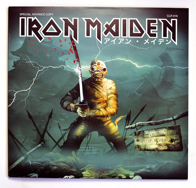 A0333 Iron Maiden Take Your Mummy On The Road Vol. II