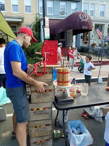Apple Cider Press at the Petworth Street Festival