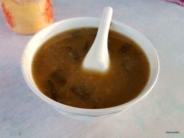 Green Bean & Seaweed in Sweet Soup