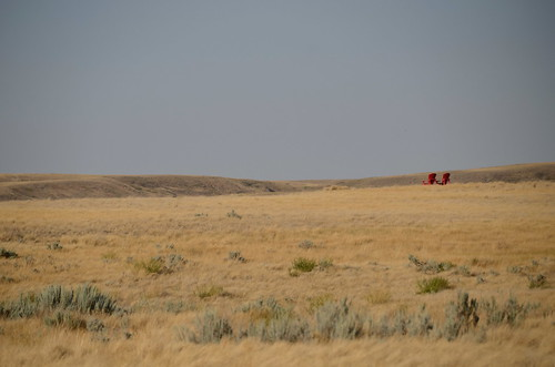 Grasslands West block red chairs