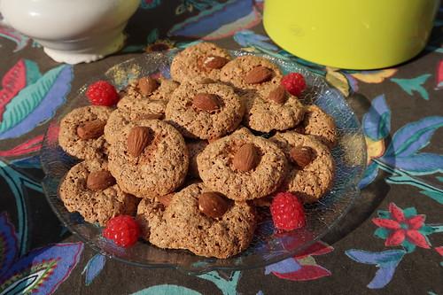 Macarons (von der Biscuiterie Artisanale Les Douceurs du Terroir an der Abtei Fontevrault)