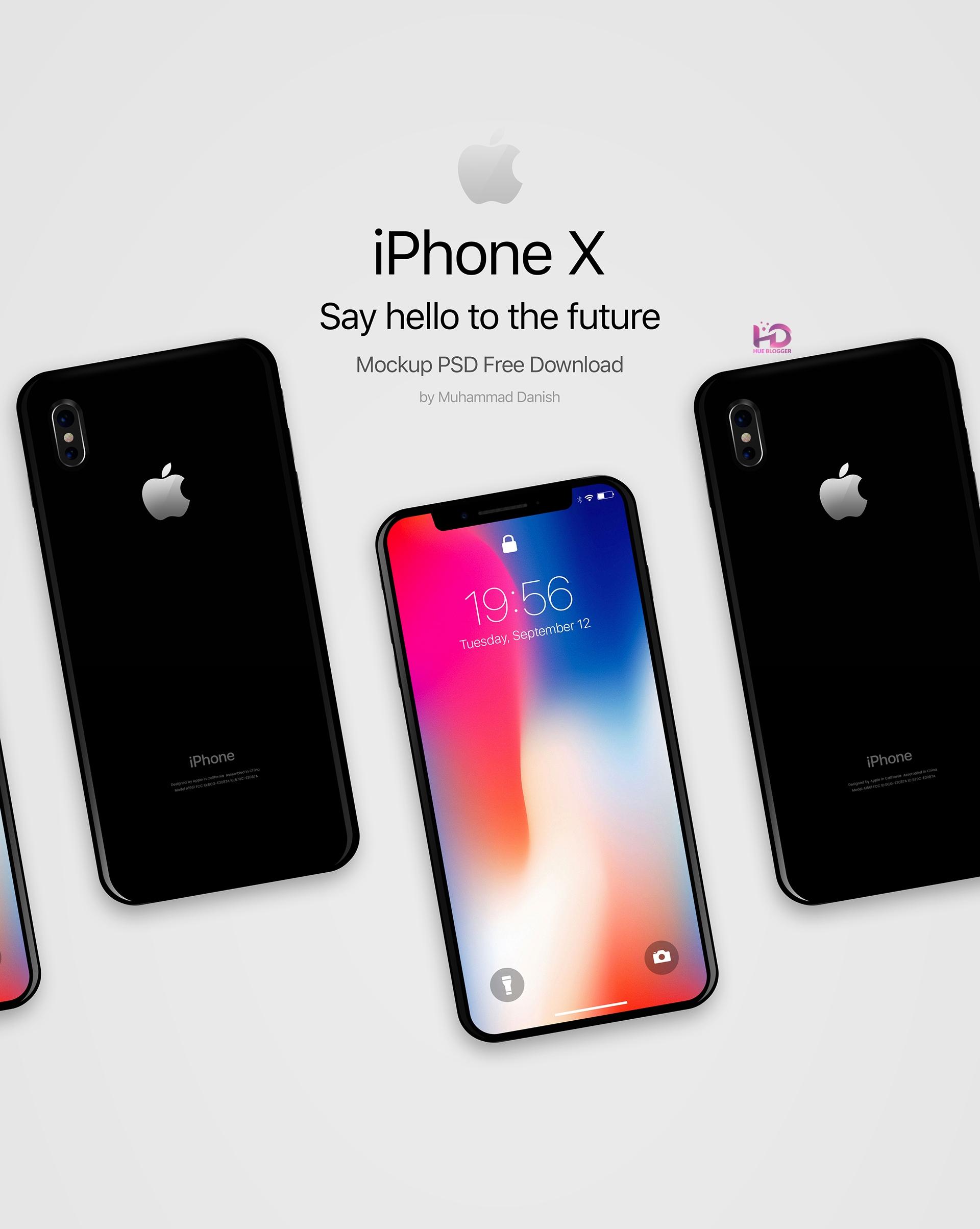 9 Mẫu Mockup iPhone X tuyệt vời