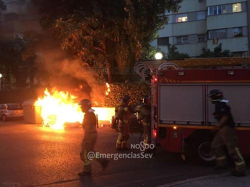 Incendio Fernando Tirado