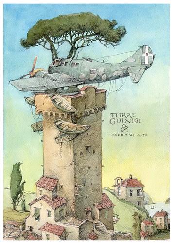 Torre Guinigi & Caproni