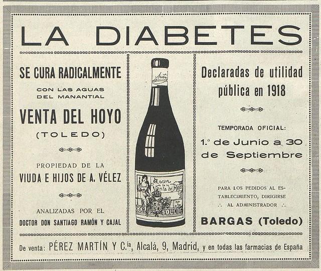 Publicidad de la Venta del Hoyo en El Financiero en noviembre de 1922