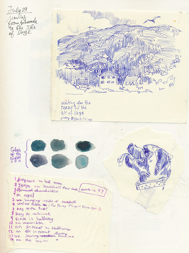 Sketchbook #107: Trip to Scotland