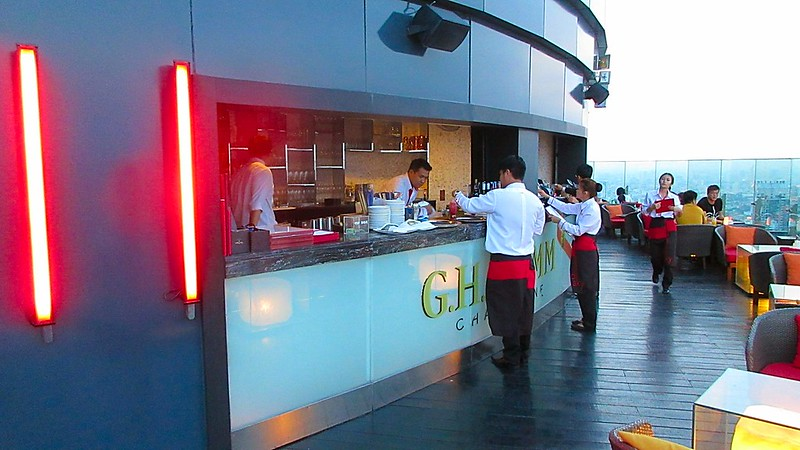 Red Sky Bar Central World Bangkok