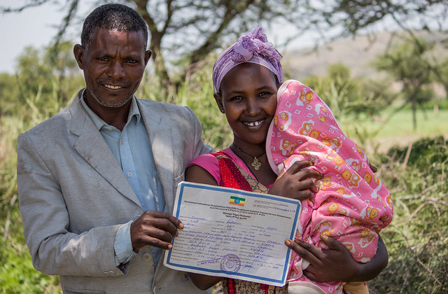 Birth Registration Programme in Dodota woreda/district of Arsi zone, Oromia region