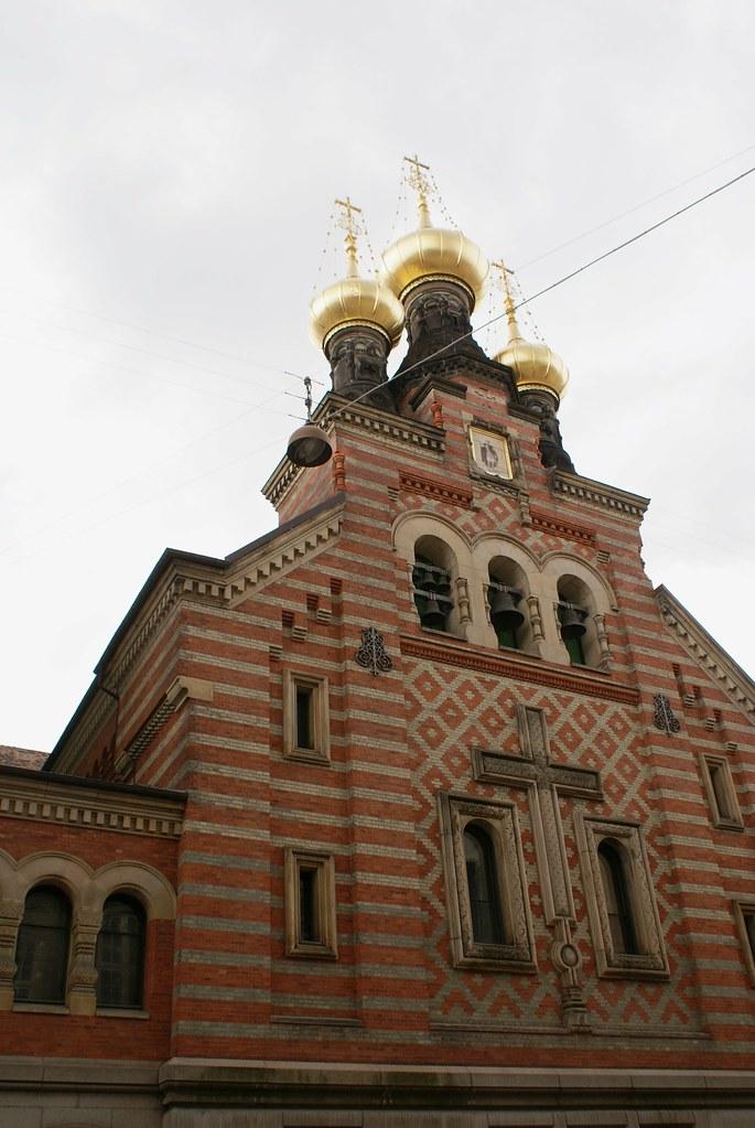 Eglise orthodoxe Alexander Nevsky à Copenhague.