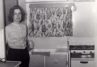 Rosemary Pettitt In The Caravan, High House