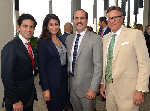 David Cardenas, Gina Smurro, Eugenio Retana, and Angel Ferrer