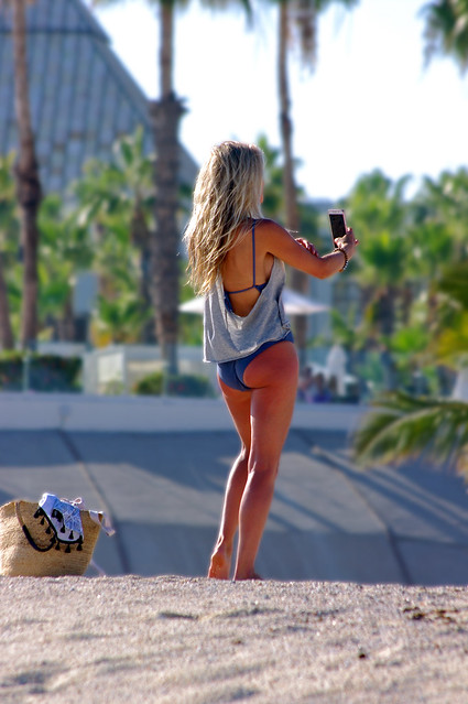 Selfie - Los Cabos, Pentax K-7, smc PENTAX-DA 55-300mm F4-5.8 ED