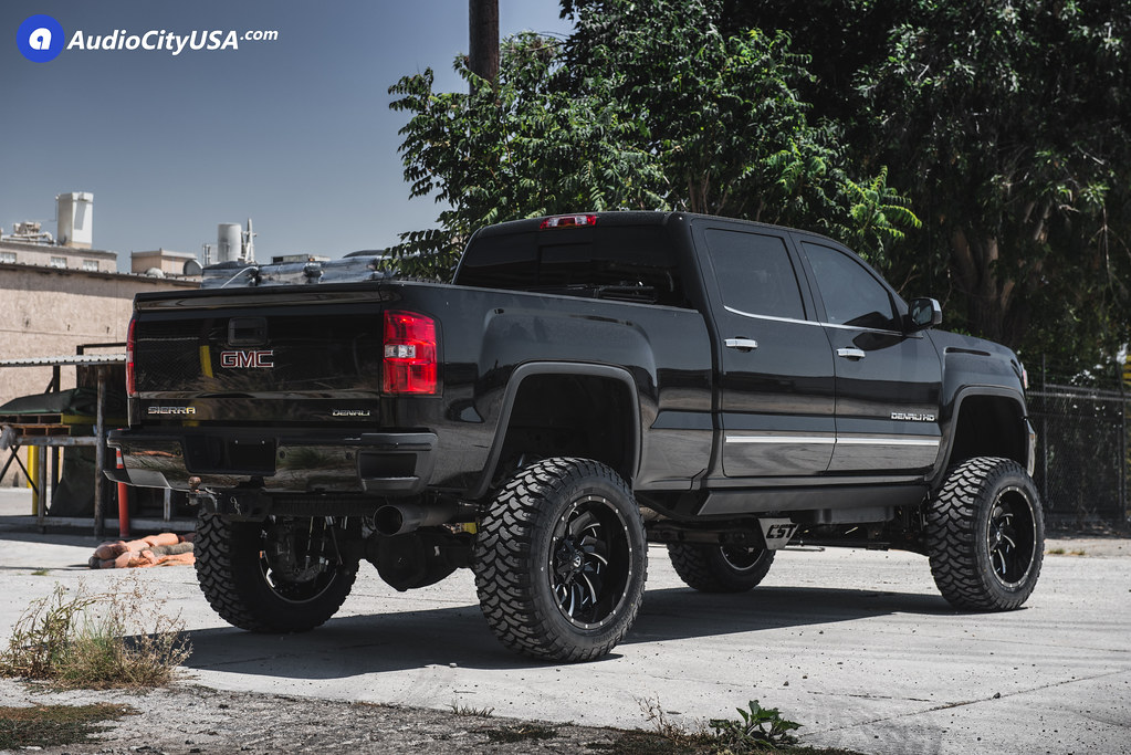 2016 chevy silverado 2500 22x12 fuel wheels d239 black. Black Bedroom Furniture Sets. Home Design Ideas