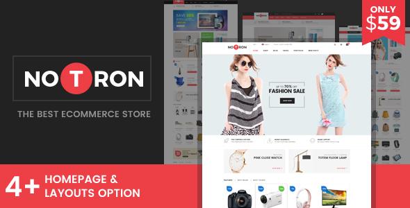 Notron v1.0 – Responsive Magento Theme