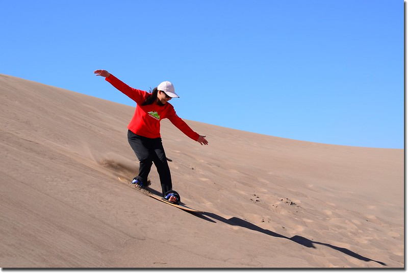 Sledding at Great Sand Dunes  (24)
