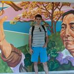 Claudio en grafiti