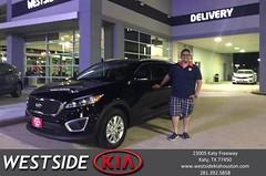 #HappyBirthday to Eliezer from Dennis Celespara at Westside Kia!
