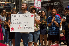 Solidarity with Charlottesville Vigil Chicago 8-13-17 2981