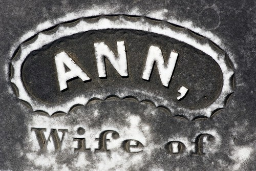 Ann, Wife of