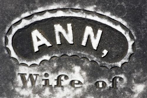 Ann, Wife of