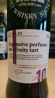 SMWS 54.50 - Expensive perfume on a fruity tart