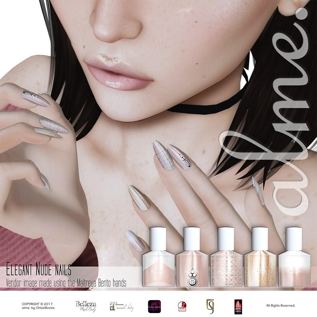 alme. Elegant Nude @ Tres Chic - SecondLifeHub.com