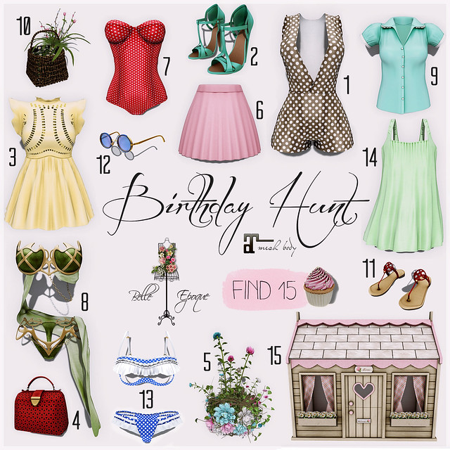Belle Epoque Birthday Hunt