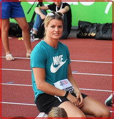 Dafne Schippers -the  2017 World Champion at the 200 metres