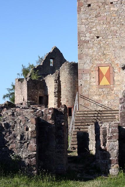 Hochburg ruins XVII
