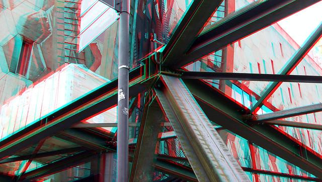 Bijenkorfconstructie by NAUM GABO  Coolsingel Rotterdam restoration 3D