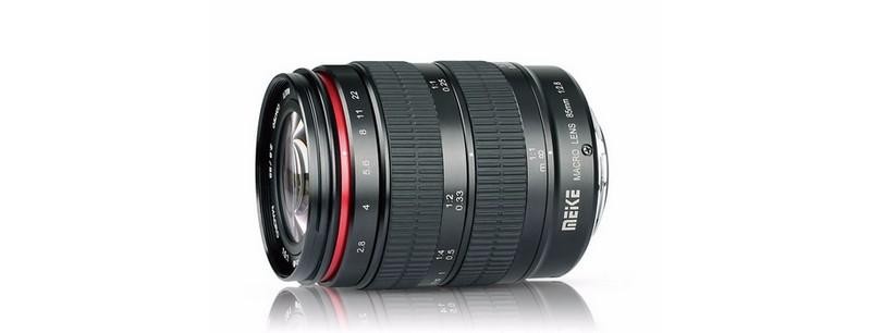 Meike dévoile l'objectif 85mm f/2.8 Macro