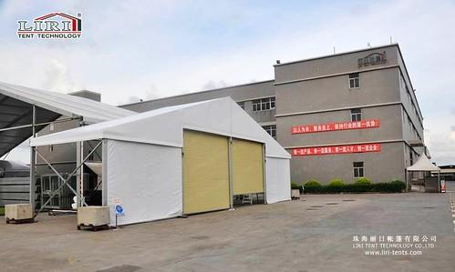 Warehouse Tent Rolling Door