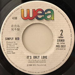 SIMPLY RED:IF YOU DON'T KNOW ME BY NOW(LABEL SIDE-B)