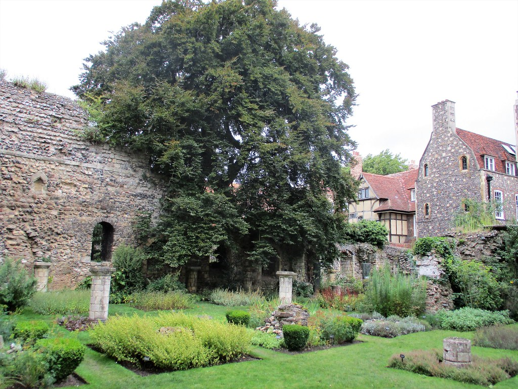Canterbury Cathedral Herb Garden