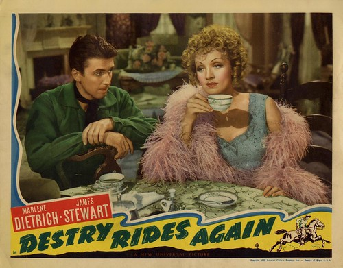 Destry Rides Again - lobbycard 1