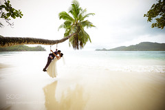 Paradise beach wedding portrait on Ratno Wistu's Flickr