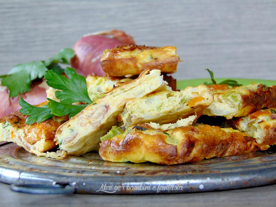 frittata al forno con le verdure del brodo3