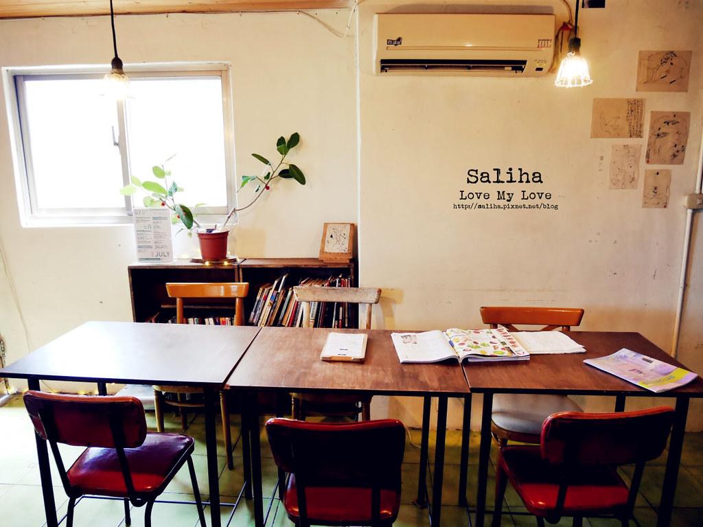 台北公館站寶藏巖文青風下午茶尖蚪咖啡館 (4)