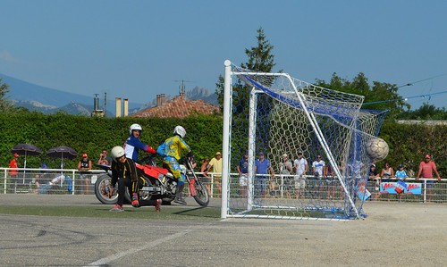 Motoball-EM 2017 (motorbike-football European Championship in France)
