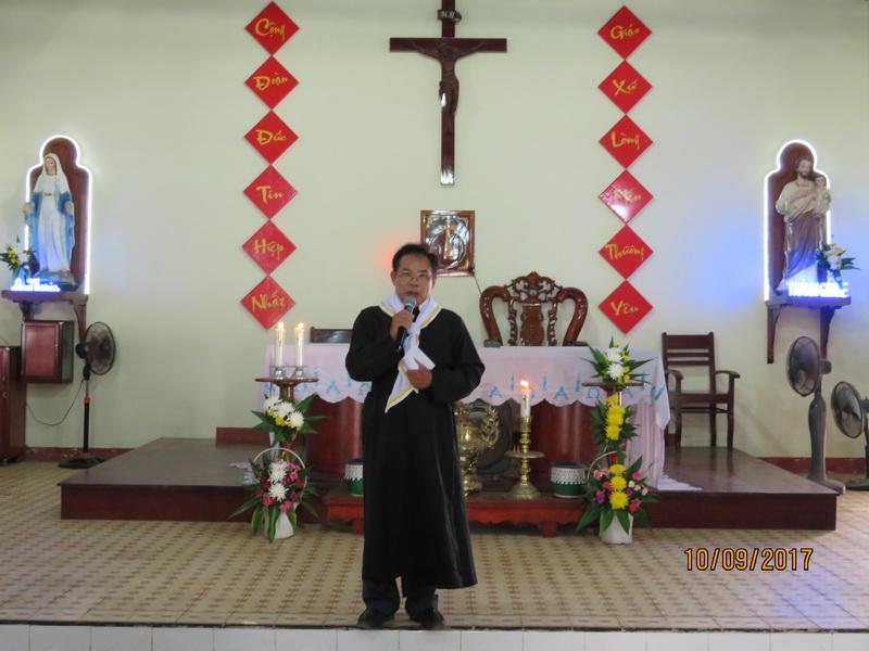 Giáo họ biệt lập Bình Hải khai giảng năm học giáo lý 2017 – 2018