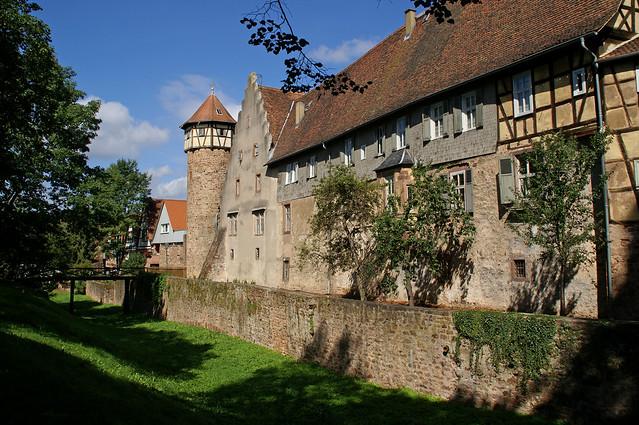Michelstadt, Burg und Diebsturm (Castle and Thieves' Tower)