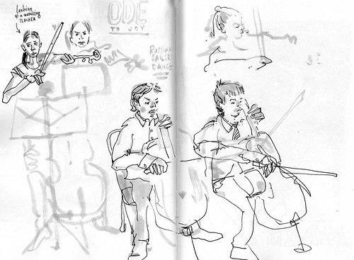 Sketchbook #105: Cello