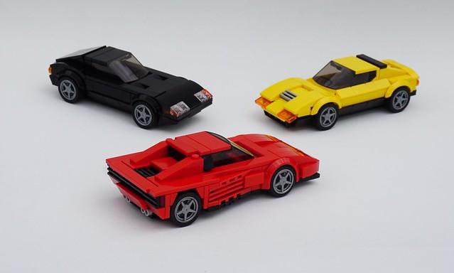 LEGO Trio Ferrari